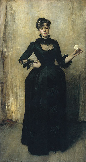Lady with the Rose (Charlotte Louise Burckhardt)