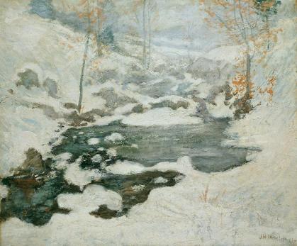 John Henry Twachtman's Icebound
