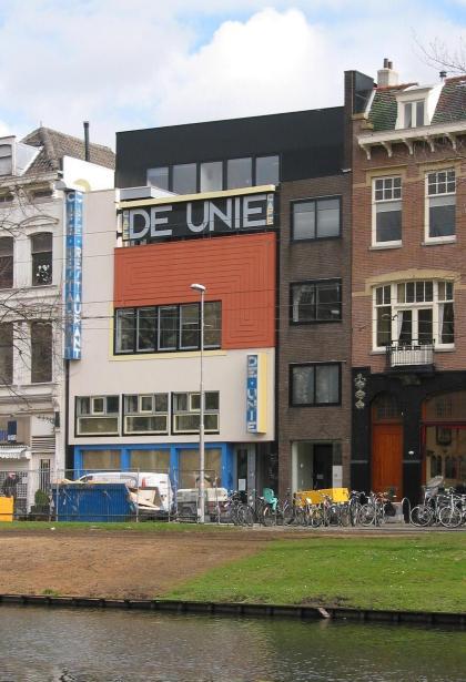 Café de Unie, JJP Oud, Rotterdam