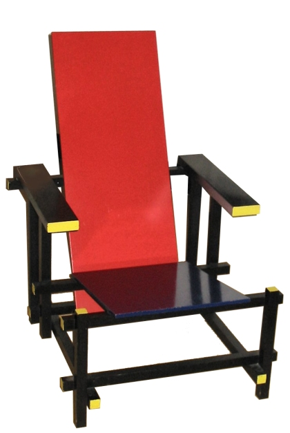Red and Blue Chair, Gerrit Rietveld