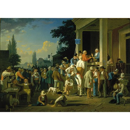 George Caleb Bingham, The County Election, 1852, St. Louis Art Museum