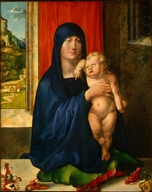 Albrecht Durer, Madonna and Child.  1496/1499