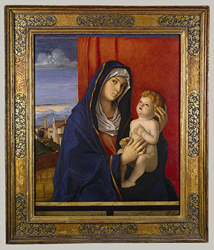 Giovanni Bellini, Madonna and Child. Late 1480s