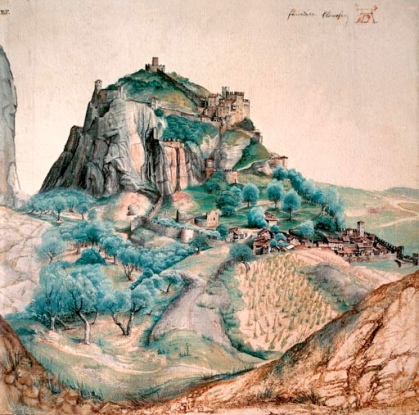 Albrecht Durer, The Castle at Arco, 1494 or 1505