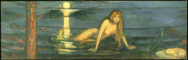 Edvard Munch, Mermaid, 1896, Philadelphia Museum of Art