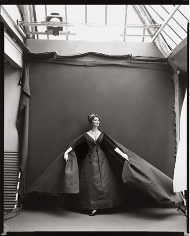 Richard Avedon, Suzy Parker, Evening Dress by Dior, August 1956
